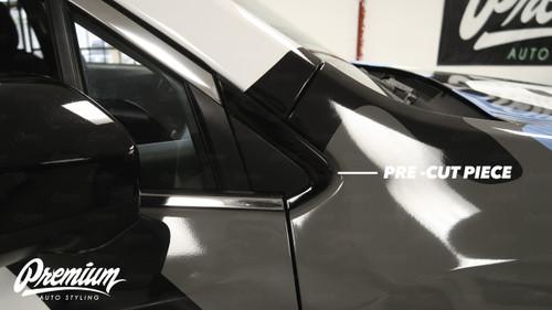 Window Trim Chrome Delete Kit - Gloss Black Vinyl | 2019-2021 Subaru Ascent