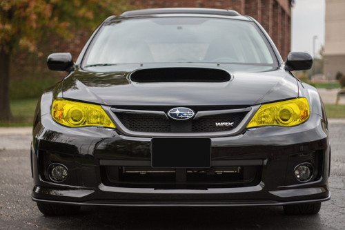 2008-2014 Subaru WRX / STI Yellow Headlight Tint Kit