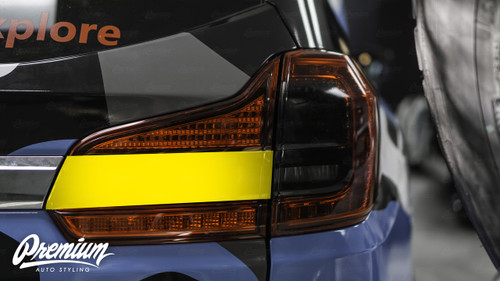 TailLight Chrome Delete Overlay - Gloss Black Vinyl | 2019-2021 Subaru Ascent