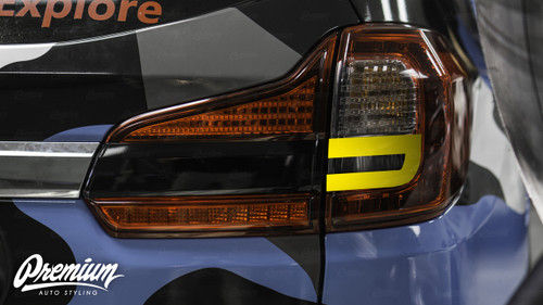 Reverse Light Insert V2 Overlay - Gloss Black Vinyl | 2019 Subaru Ascent