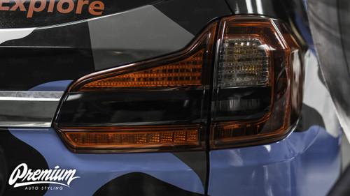 Reverse Light Insert V2 Overlay - Gloss Black Vinyl | 2019 Subaru Ascent