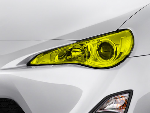Yellow Headlight Tint Kit (2013-2017 Scion FRS)