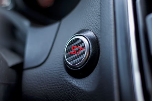 ST Start Button Overlay (Carbon/Red ST)