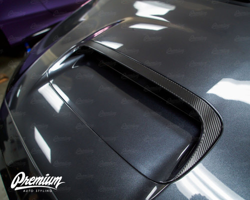 The Fang - Hood Scoop Outer Trim Vinyl Overlay