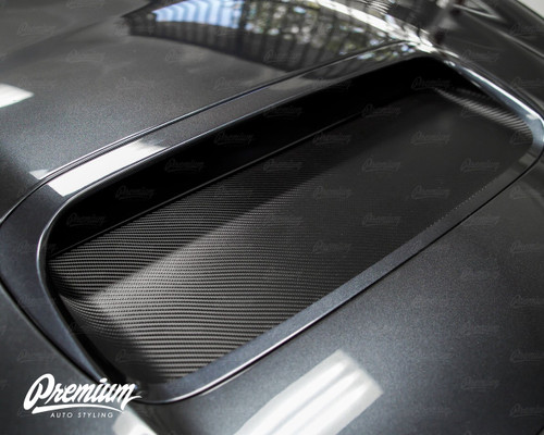 The Rally Duct V1 - Hood Scoop Vinyl Overlay