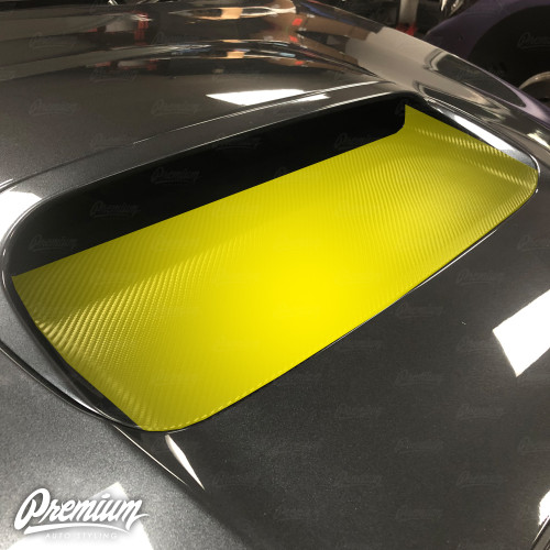 The Rally Duct V2 - Hood Scoop Vinyl Overlay | Subaru WRX/STI 2015-2017