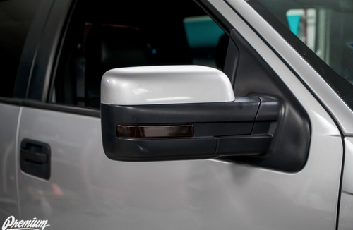 Mirror Reflector Smoke Tint Overlay