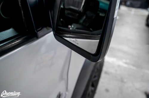Mirror Indicator Light Smoke Tint Overlay