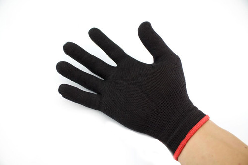 Black Vinyl Wrapping Glove