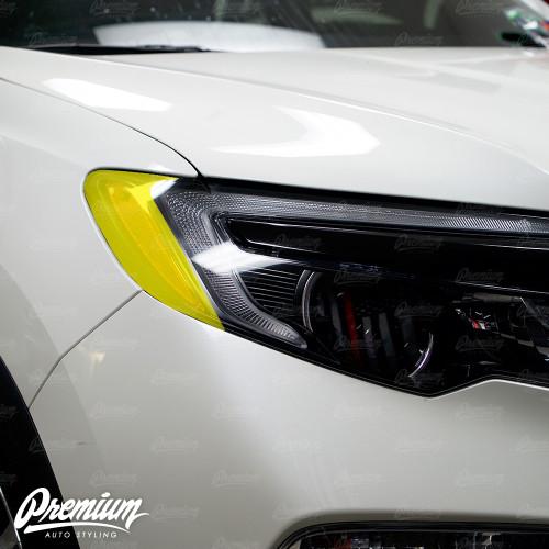 Headlight Amber Delete V2 Smoke Tint Overlay | Honda Pilot 2016-2018