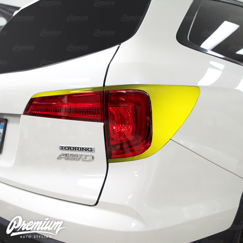 Taillight Deck Gloss Black Vinyl Accent Overlay | Honda Pilot 2016-2018