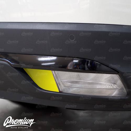 Rear Bumper Reflector Gloss Black Vinyl Overlay | Honda Pilot 2016-2018