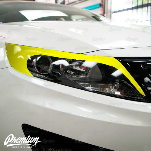 Headlight Amber Delete with Eyelid V2 - Gloss Black | Kia Optima 2010-2015