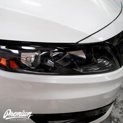Headlight Eyelid V1 - Gloss Black | Kia Optima 2010-2015