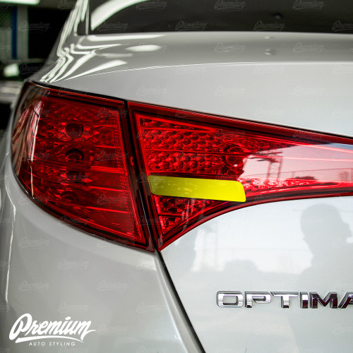 Taillight Reverse Light Smoke Tint Overlay | Kia Optima 2010-2013