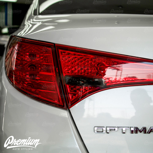 Taillight Reverse Light Smoke Tint Overlay | Kia Optima 2010-2013