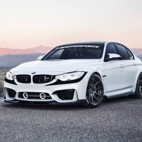 F1 Style Front Bumper Accent Vinyl Inlay Bmw M3 F80 2014 2018
