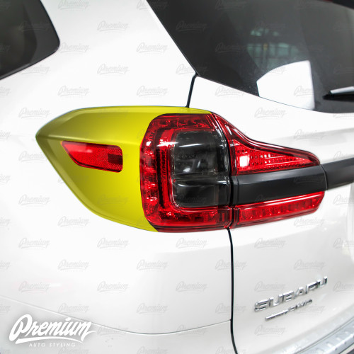 Taillight Deck Vinyl Overlay - Satin Black | Subaru Ascent 2019