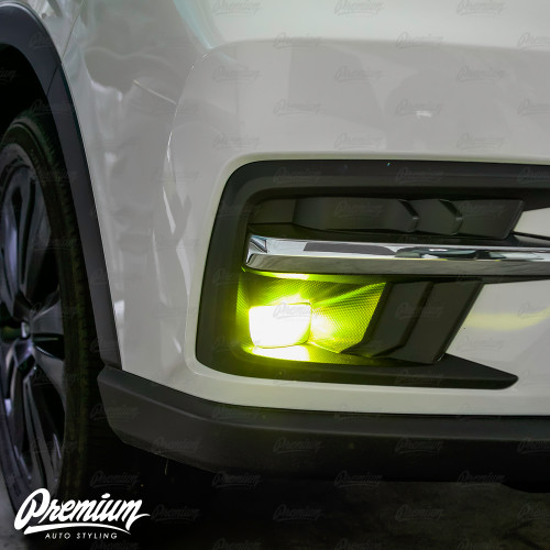 Fog Light Tint Overlay - Rally Yellow | 2019 Subaru Ascent