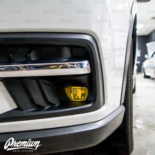 Fog Light Tint Overlay - Rally Yellow   2019-2021 Subaru Ascent