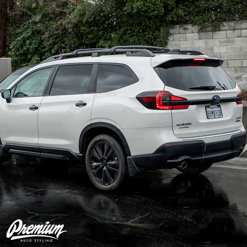 Rear Bumper Reflector Overlay - Smoke Tint | 2019-2021 Subaru Ascent