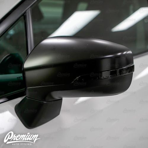 Mirror Light Indicator Overlay (FACE ONLY) - Smoke Tint   2019-2020 Subaru Ascent