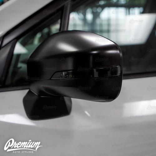 Mirror Light Indicator Overlay (FACE ONLY) - Smoke Tint | 2019-2020 Subaru Ascent