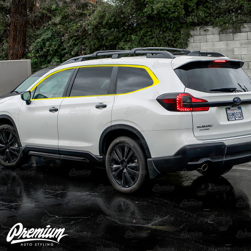 Window Trim Chrome Delete Kit - Satin Black Vinyl | Subaru Ascent 2019
