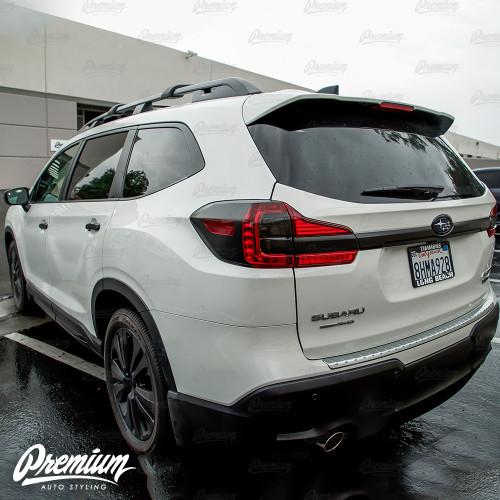 Trunk Trim Chrome Delete - Satin Black Vinyl Overlay | 2019-2021 Subaru Ascent