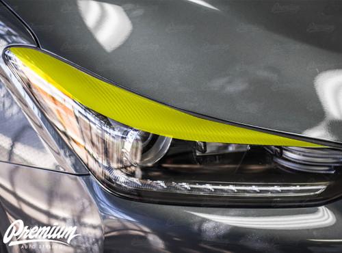 Headlight Eyelid Vinyl Overlay | Hyundai Veloster 2018-2019