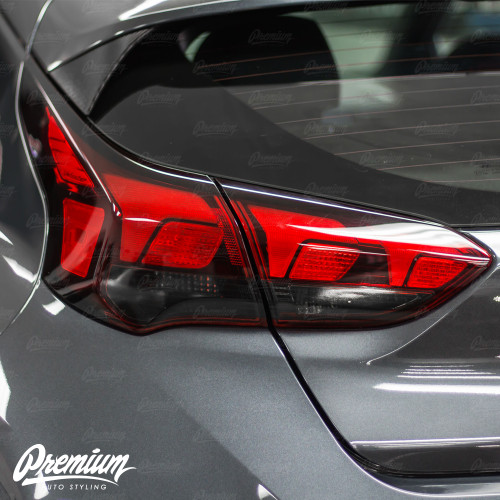 Taillight Tint Insert Smoked Overlays | Hyundai Veloster 2018-2019