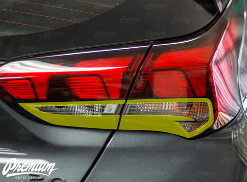 Taillight Outline Overlays | Hyundai Veloster 2018-2019