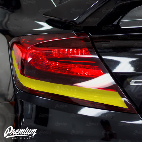 TailLight Reverse Light + Turn Signal Smoked Tint Overlays | 2014-2015 Honda Civic Coupe