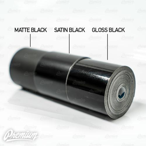 3M Trim Wrap ( Satin Black Chrome Delete )