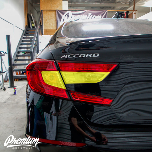 Full Red Tail Light Inset Overlays | 2018-2019 Honda Accord