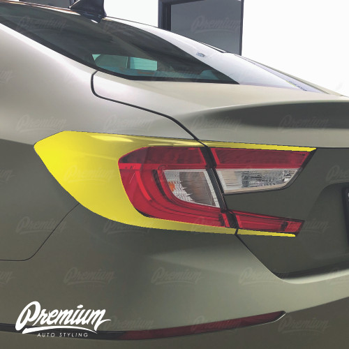Tail Light Deck Vinyl Overlay - Gloss Black | 2018-2019 Honda Accord