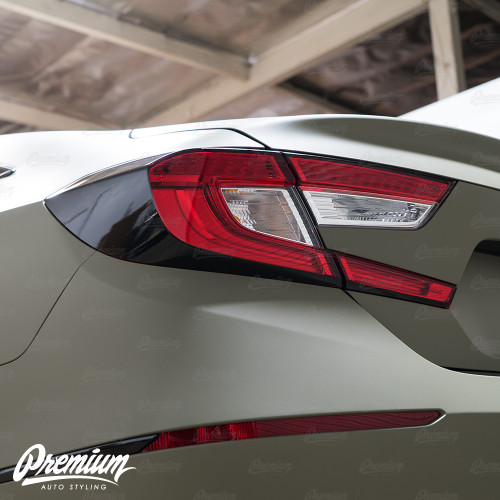 Tail Light Deck Vinyl Overlay - Gloss Black | 2018-2019 Honda Accord