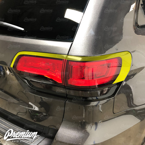 Tail Light Accent Vinyl Trim - Gloss Black | 2018 Jeep Grand Cherokee