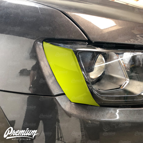 Headlight Amber Delete - Gloss Black | 2018 Jeep Grand Cherokee