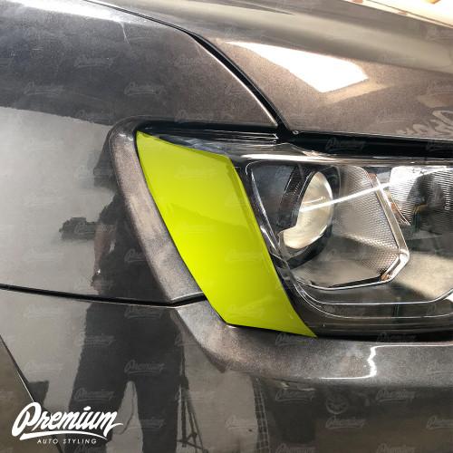 Headlight Amber Delete - Gloss Black   2018 Jeep Grand Cherokee