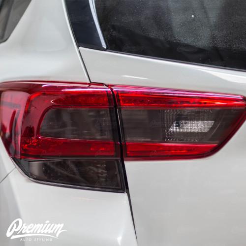 Smoked Tail Light  + Blinker w/ Reverse Cut Out   2018-2021 Subaru Crosstrek XV