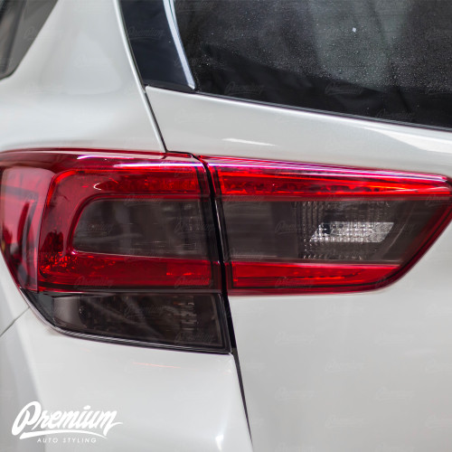 Smoked Tail Light  + Blinker w/ Reverse Cut Out | 2018-2021 Subaru Crosstrek XV