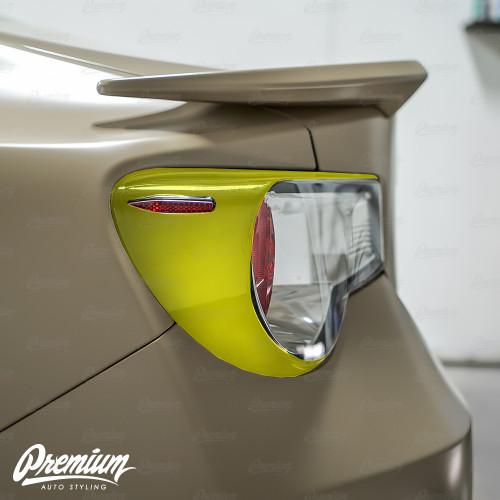 Tail Light Deck Vinyl Overlay - Gloss Black   2012-2016 Toyota GT86