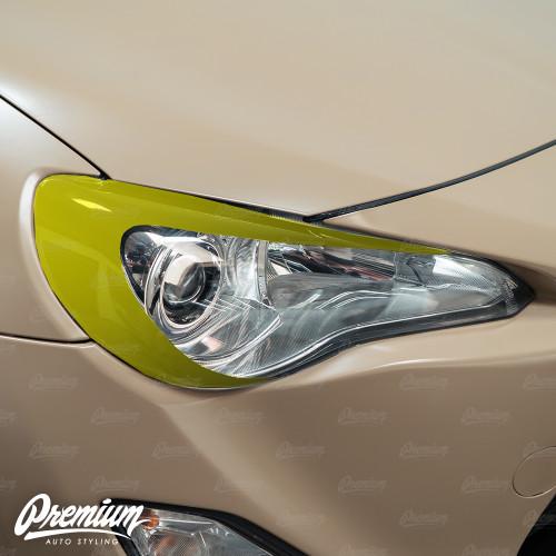 Headlight Eyelid Vinyl Overlay - Gloss Black | 2012-2016 Toyota GT86 & BRZ