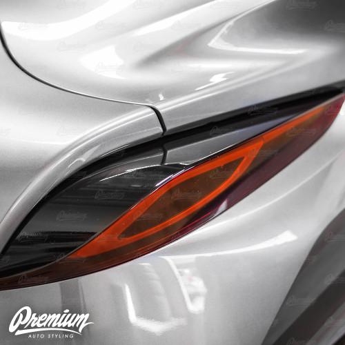 Tail Light Deck Vinyl Overlay - Gloss Black | 2020 Toyota Supra