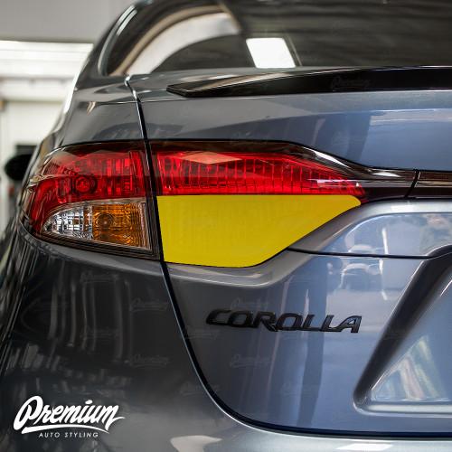 Tail Light Reverse Light Overlay - Smoke Tint | 2020-2021 Toyota Corolla Sedan