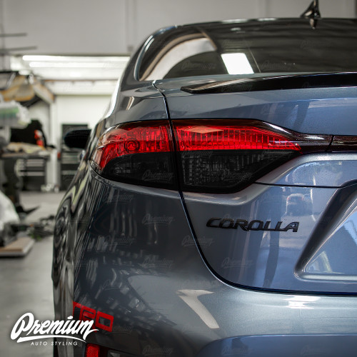 Tail Light Smoke Overlay - Smoke Tint | 2020-2021 Toyota Corolla Sedan