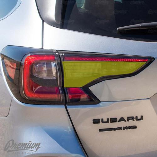 Tail Light Reverse Light Overlay - Smoke Tint | 2020 Subaru Outback