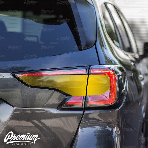 Tail Light Black Out (FULL STEALTH) Overlay - Smoke Tint | 2020 Subaru Outback