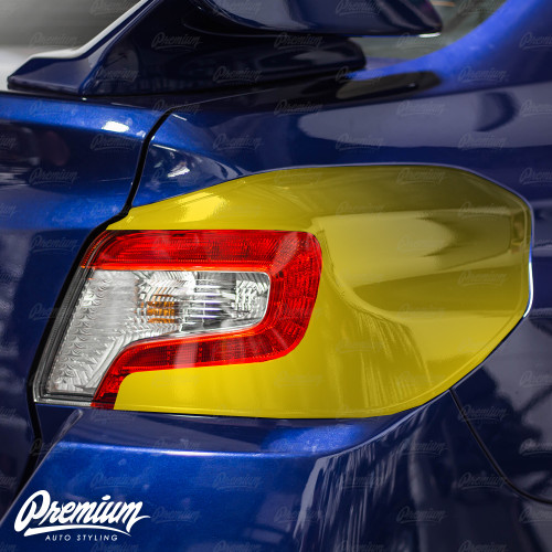 Tail Light Deck Black Out Vinyl Overlay - Gloss Black | 2015-2020 Subaru WRX/STI